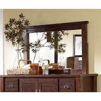 Trestlewood Solid Pine Wood Bedroom Mirror
