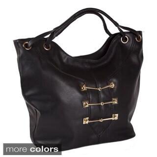 Lithyc 'Delilah' Vegan Leather Satchel Handbag