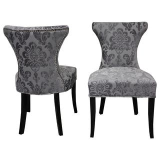 Cosmo Grey Fan Damask Dining Chair (Set of 2) https://ak1.ostkcdn.com/images/products/10364455/P17471818.jpg?impolicy=medium