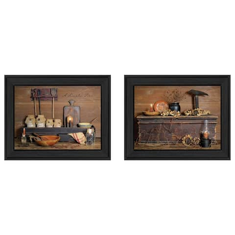"""Rustic"" Collection By Billy Jacobs, Printed Wall Art, Ready To Hang Framed Poster, Black Frame"