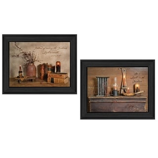 """Candles"" Collection By Billy Jacobs, Printed Wall Art, Ready To Hang Framed Poster, Black Frame"