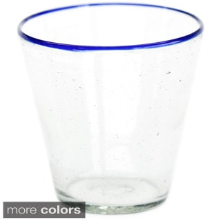 Set of 4 Recycled Water Glass (Guatemala)
