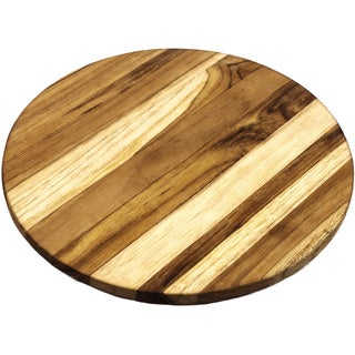 Teakwood Round Cheese Board (Guatemala)