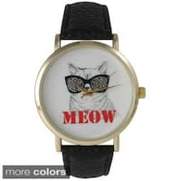 Olivia Pratt Women's 'Meow' Cat Watch