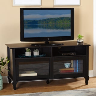 Simple Living Layla Black TV Stand