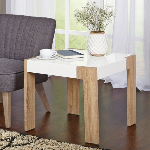 Shop Simple Living Smart End Table Free Shipping Today