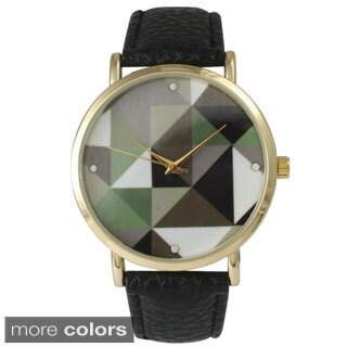 Olivia Pratt Women's 14741 Prismatic Dial Watch