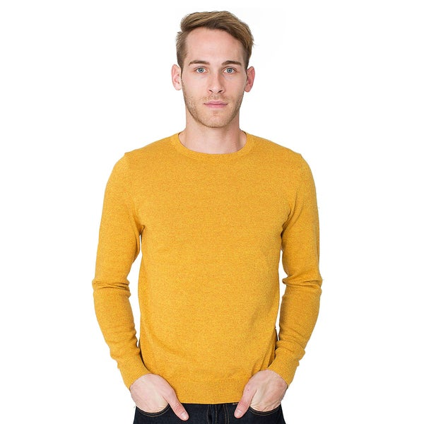 American Apparel Mens Basic Crew Neck Sweater