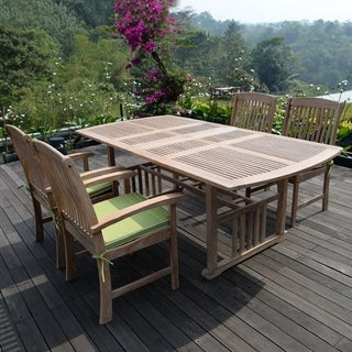 Cambridge Casual Monterey 5-piece Extendable Table Dining Set