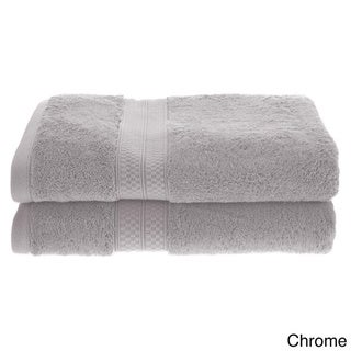 Superior Soft, Absorbent Rayon from Bamboo and Cotton Bath Towel (Set of 2)
