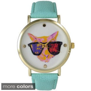 Olivia Pratt Women's 14589 Cool Cat Watch