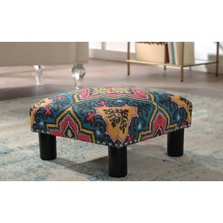 Jennifer Taylor Jules Square Accent Ottoman (3 options available)