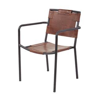 LS Dimond Home Industrial Arm Chair