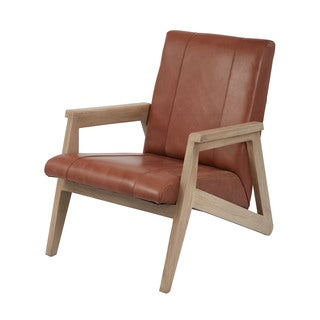 LS Dimond Home Angular Modern Lounge Chair