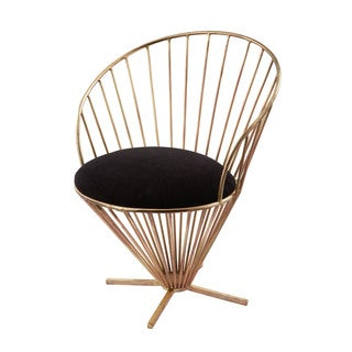LS Dimond Home Iron Taper Wire Chair
