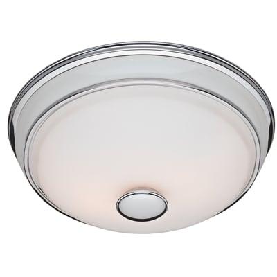 Victorian Decorative Bath Fan With Light
