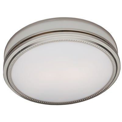 Riazzi Decorative Bath Fan with Light and Night-Light - N/A