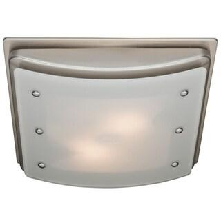 Ellipse Decorative Bath Fan with Light and Night Light
