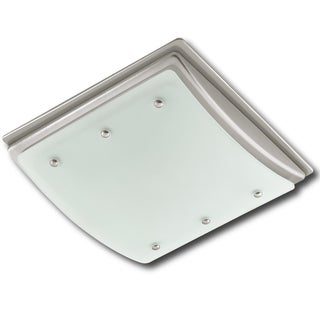 Hunter Ellipse 100CFM Ceiling Mount Bath Exhaust Fan with Light and Night Light
