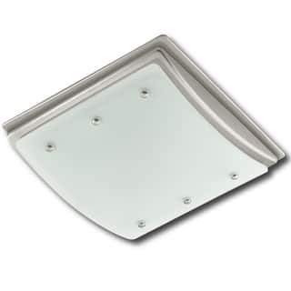 ellipse decorative bath fan with light and night light na - Bathroom Exhaust Fan With Light