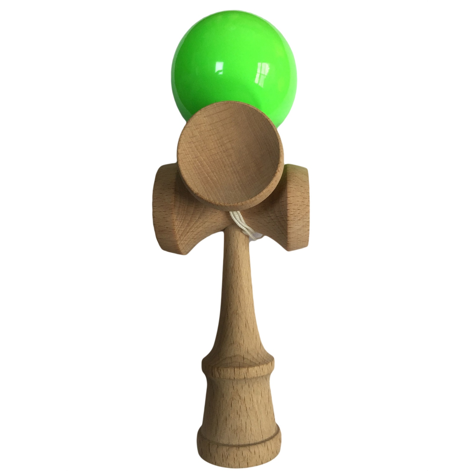 SEAICH 5-cup Natural Beech Wood Professional Kendama Tric...