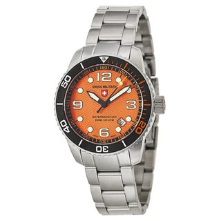 Swiss Military Men's 'Marlin' Stainless Steel Swiss Quartz Watch