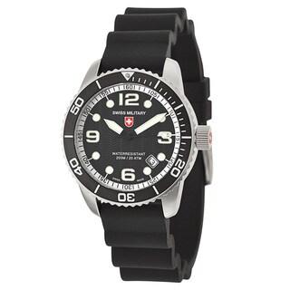 Swiss Military Men's 'Marlin' Stainless Steel Swiss Quartz Watch