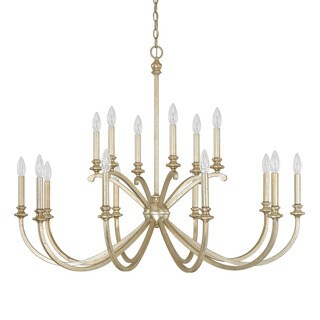 Capital Lighting Donny Osmond Alexander Collection 16-light Winter Gold Chandelier
