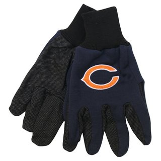 Chicago Bears NFL Utility Gloves (Pair)