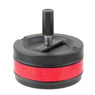 Red Disco Black Matte Spinner Cigarette Ashtray