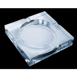 Visol Arnold Crystal Cigar Ashtray Four Cigar Lip On Sale Overstock 10366633