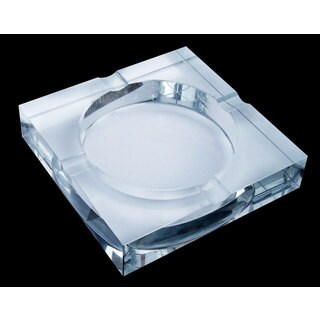 Visol Arnold Crystal Cigar Ashtray - Four Cigar Lip