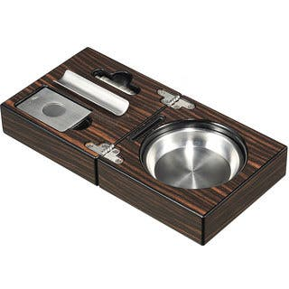 Visol Bremen Cigar Ashtray with Cigar Cutter and Punch|https://ak1.ostkcdn.com/images/products/10366639/P17473858.jpg?impolicy=medium