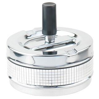 Disco Stainless Steel Spinner Cigarette Ashtray