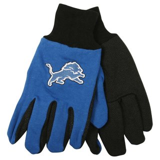 Detroit Lions NFL Utility Gloves (Pair)