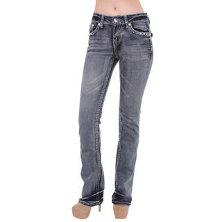 Sexy Couture Women's S97-PS Mid Rise Bootcut Jeans|https://ak1.ostkcdn.com/images/products/10366719/P17473889.jpg?impolicy=medium