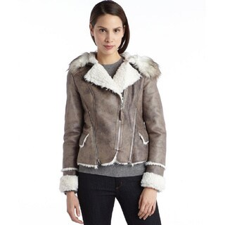 Laundry By Shelli Segal Faux Fur Coat