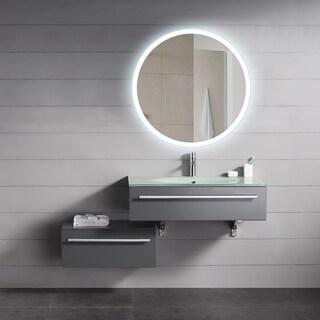 Backlit Round Mirror (24x24)