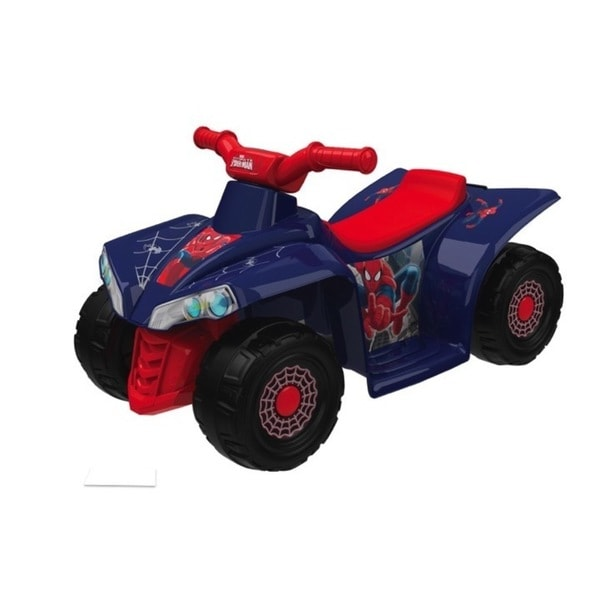 Spiderman 6V Little Quad Ride-on