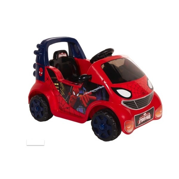 Spiderman 6V Small Car Ride On