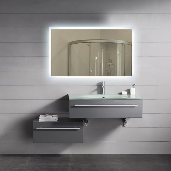 Overstock Mirrors: Shop Backlit Mirror Rectangle (40x24)