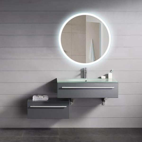 Backlit Round Mirror (32x32)