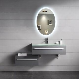Backlit Oval Mirror (20x28)