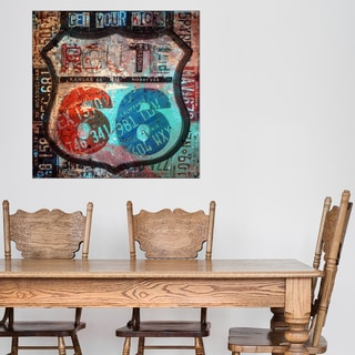 Ready2HangArt 'Born 2B Wild VI' Canvas Wall Art