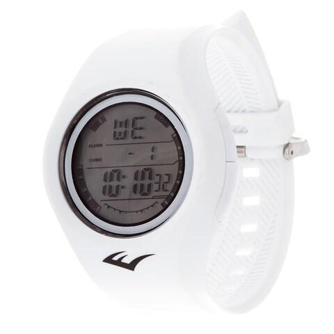 Everlast Retro Kids Digital Round Sport Mens's LED White watch Watch with Rubber Strap