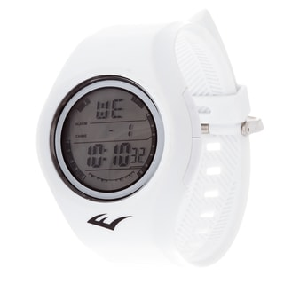 Everlast Retro Kids Digital  Round Sport Mens's LED White watch Watch with Rubber Strap
