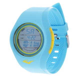 Everlast Retro Kids Digital Round Sport Mens's LED Turquoise watch Watch with Rubber Strap|https://ak1.ostkcdn.com/images/products/10366997/P17474124.jpg?impolicy=medium