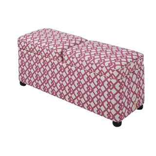 Jennifer Taylor Jane Entryway Double Storage Bench