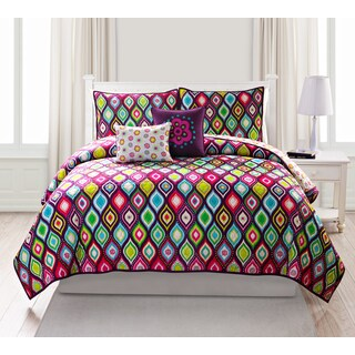 VCNY Nina Cotton 5-piece Quilt Set