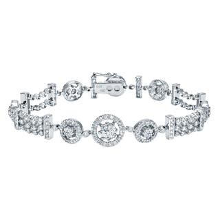 Auriya 14k White Gold 4ct TDW Round Diamond Tennis Bracelet|https://ak1.ostkcdn.com/images/products/10367224/P17474292.jpg?impolicy=medium
